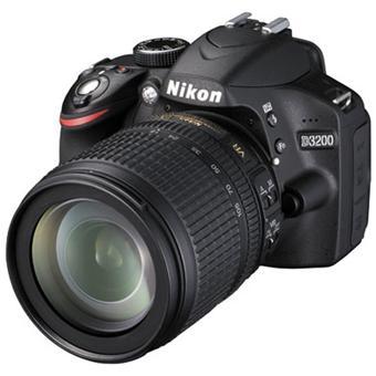 Appareil Photo NIKON D3200 NOIR 24MPIXELS KIT 18-105MM VR