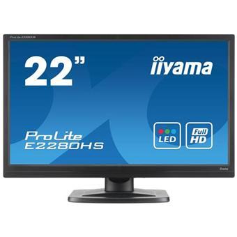 Ecran LCD 22 pouces IIYAMA PROLITE B2280HSB1 NOIR 22\