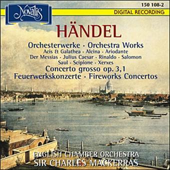 Concertos pour les feux d'artifice / HV.335a-b - Alcina...