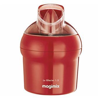 Sorbetière Glacier Magimix 1,5 litres Rouge - Achat & prix | fnac