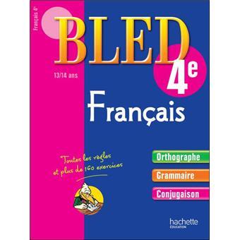 Bled Cahier De Francais 4eme