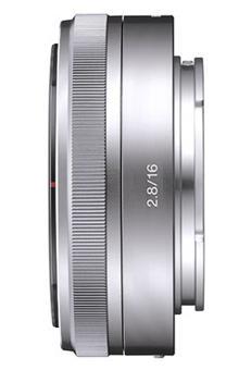 Sony E-pancake hybride lens 16 mm f / 2.8, speciale NEX-serie