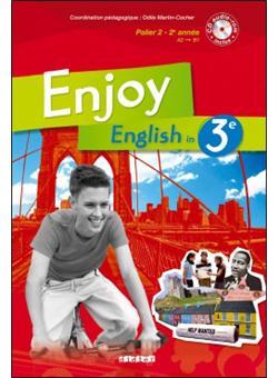 Enjoy English 3e Livre Cd Audio Rom