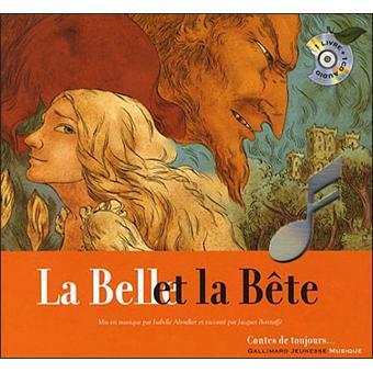 La belle et la bete livre-cd