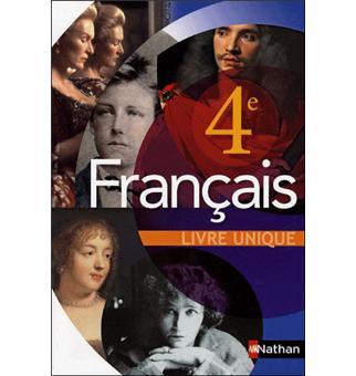 Francais 4e Livre Unique Professeur