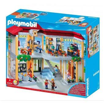 playmobil 4324 ecole playmobil achat prix fnac. Black Bedroom Furniture Sets. Home Design Ideas