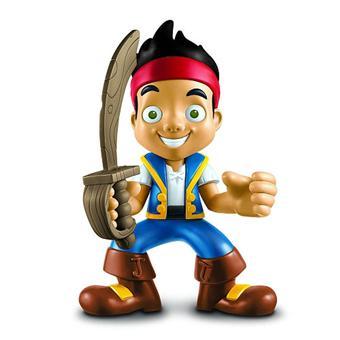 Figurine à fonctions Jake et les Pirates du Pays imaginaire - Poupée ...
