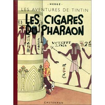 TintinLes cigares du pharaon