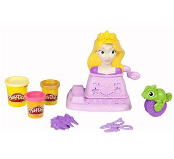 hasbro playdoh t te coiffer raiponce p te modeler. Black Bedroom Furniture Sets. Home Design Ideas