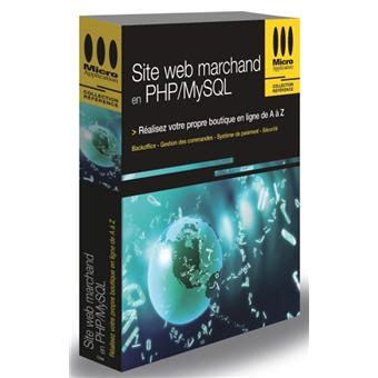 Site Web marchand en PHP MySQL