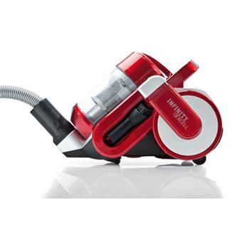 dirt devil m 5050 5 infinity excell rouge argent aspirateur sans sac achat prix fnac. Black Bedroom Furniture Sets. Home Design Ideas