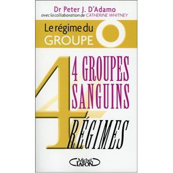 Le régime du groupe O - 4 groupes sanguins 4 régimes 4 groupes ...