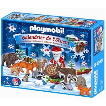 Calendrier L Avent Playmobil.Playmobil 4155 Calendrier De L Avent Noel En Foret