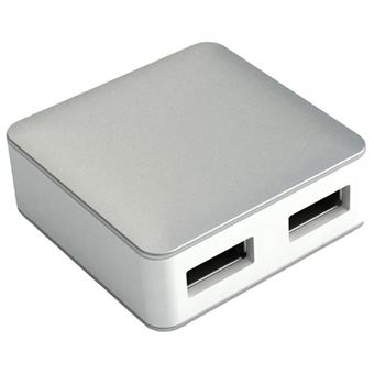 Mobility Lab Hub Cube - 4 ports USB - Alu