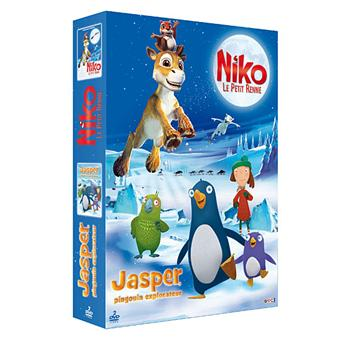 Jasper le pingouin explorateur niko le petit renne coffret dvd zone 2 achat prix fnac - Jasper le pingouin ...