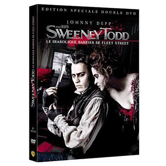 Sweeney Todd Le diabolique barbier de Fleet Street Edition Collector DVD