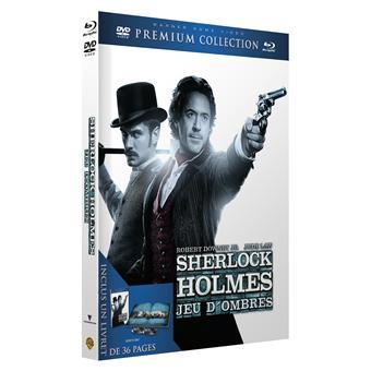 Sherlock HolmesSherlock Holmes 2 : Jeu d'ombres - Premium Collection - Combo Blu-Ray + DVD