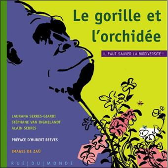 Le gorille et l'orchidee