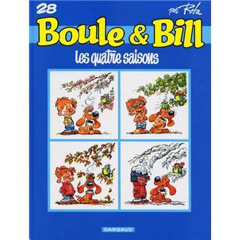 Boule et BillLes quatre saisons