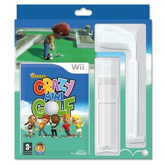 Bigben Crazy Mini Golf + club pour Wii
