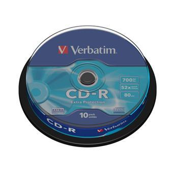 Verbatim CD-R 80 min x 10