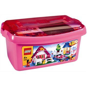 lego 5560 grande bo te rose de briques lego lego achat prix fnac. Black Bedroom Furniture Sets. Home Design Ideas