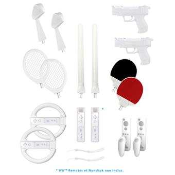 Pack 20 accessoires sport pour Wii BigBen