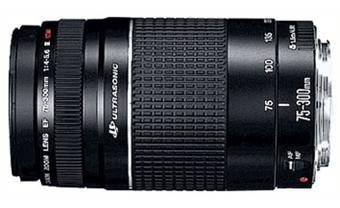 USM Canon EF 75-300 mm f / 4,0-5,6 III