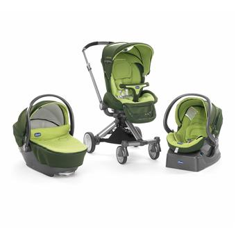 Poussette Trio I-Move Top Chicco Vert - Achat