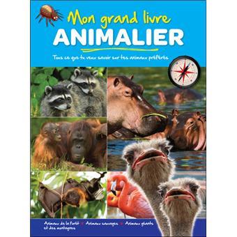 Mon Grand Livre Animalier Animaux De La Ferme Animaux Sauvages Geants