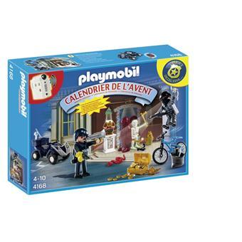 playmobil 4168 calendrier de lavent policier et voleur dantiquits - Policier Playmobil