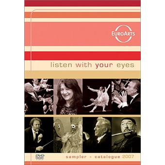 Listen with your eyes - Sampler+catalogue Euroarts 2007