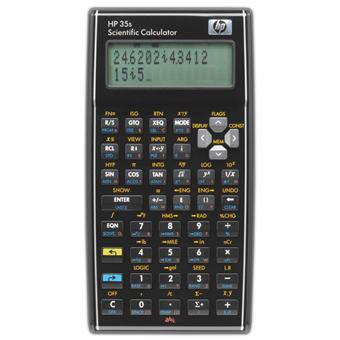 HP Calculatrice 35s