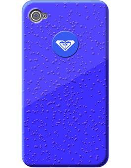 Roxy Coque Effet Goutte d Eau pour iPhone 4 4S Bleue