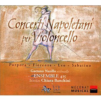 Concertos napolitains pour violoncelle