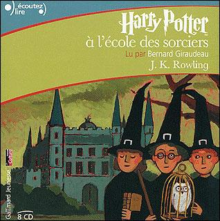 Harry Potter 8 Cd Audio 8hr Lus Par Bernard Giraudeau Tome 1 Harry Potter A L Ecole Des Sorciers