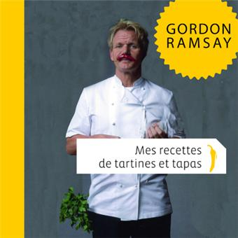 mes recettes de tartines et de tapas broch gordon ramsay achat livre fnac. Black Bedroom Furniture Sets. Home Design Ideas