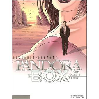 Pandora boxPandora Box - La Luxure - tome 4/8