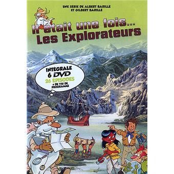 Il était une fois...IL ETAIT UNE FOIS LES EXPLORATEURS-6 DVD-VF