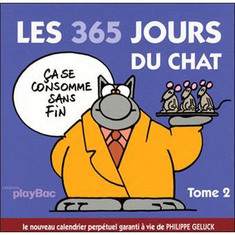 Le Chat Coffret Volume 2 Tome 2 Calendrier Les 365 Jours Du Chat