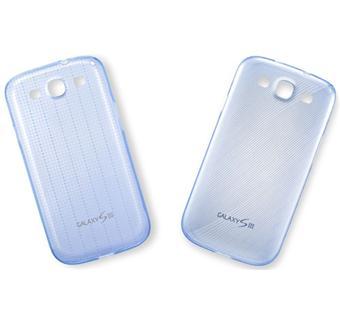 Samsung Lot de 2 Coques pour Galaxy S3 - Bleues Translucides
