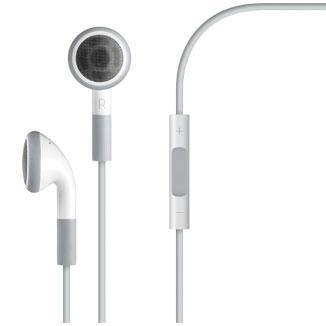 Apple Earphones with Remote and Mic - In-ear hoofdtelefoons met micro
