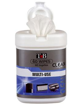 TNB BOX 60 LINGETTES CLEANING WIPES