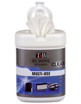 T'nB Boîte 60 lingettes de nettoyage - Multimédia