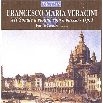 6 Sonates pour violon solo et basse continue, opus 1