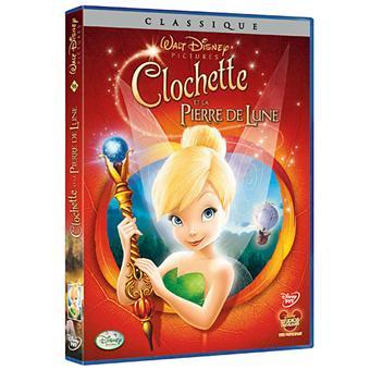 Fée ClochetteClochette et la pierre de Lune DVD