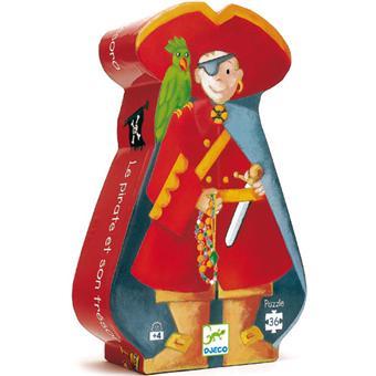 Djeco Le pirate et son trésor Puzzle 36 pcs