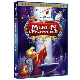 Merlin l'Enchanteur DVD