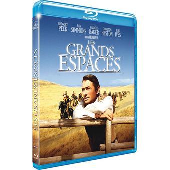 Les grands espaces Blu-ray