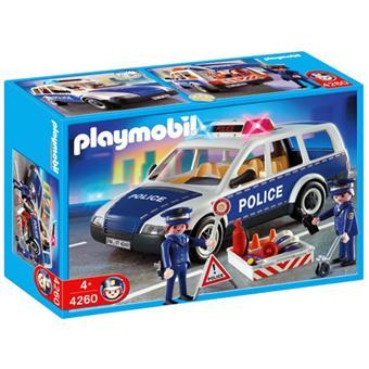 Playmobil - 4260 - Voiture de police et patrouille